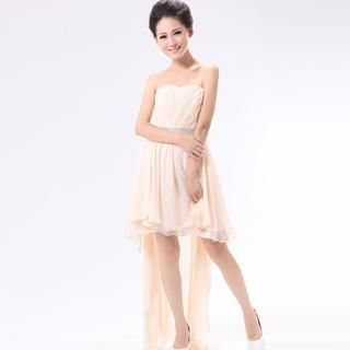 Buy 'Annie Wedding – Dip-Back Rhinestone Party Dress' with Free Shipping at YesStyle.com.au. Browse and shop for thousands of Asian fashion items from China and more!