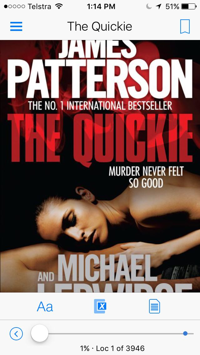 Another #JamesPatterson book read in my collection
