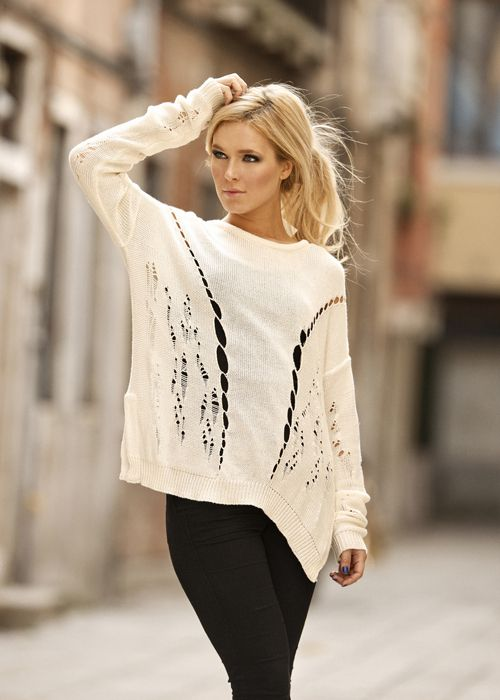 Oversized Sweater: Sweaters, Fashion, Style, Dream Closet, Clothes, Outfit, Wardrobe, Shirt