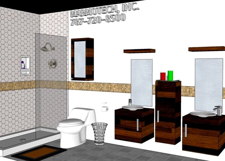 7 Best Bathroom 5x12 Images On Pinterest