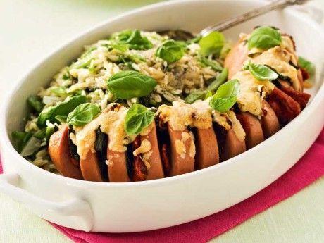 Recept på falukorv med italienska smaker som går snabbt och enkelt att göra. En klassiker som brukar uppskattas av alla i familjen!