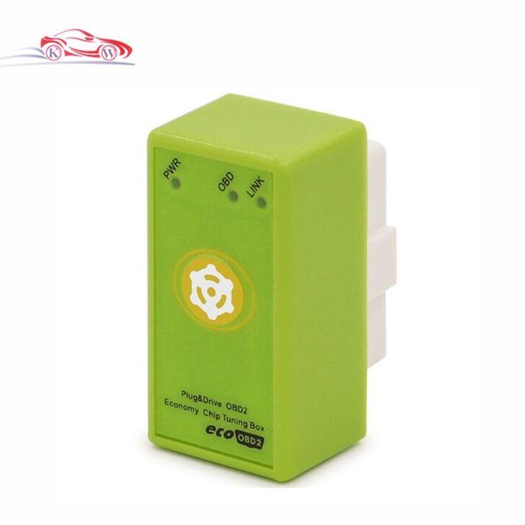 Hot Sale ECOOBD2 Benzine Car Chip Tuning Box With Reset Button EcoOBD2 OBDII Refresh Decrease 15% Fuel Consumption Plug & Drive #Affiliate