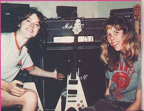 Lars Ulrich & James Hetfield