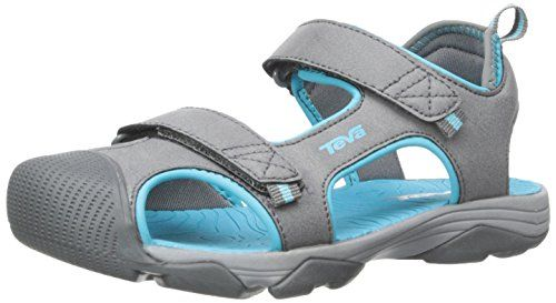 Perfect Teva Teva Mens Omnium Closed Toe Sandal In Black For Men Ombre Blue