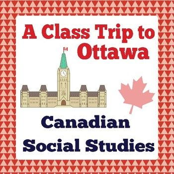 """The premise of this resource is to provide students with a way to plan a """"virtual"""" class trip to Ottawa with the help of the Internet. This resource includes: ---two cover pages (one could be used for a bulletin board display the other for a student notebook); ---a one-page informational passage about Ottawa with a page of questions (no answer"""