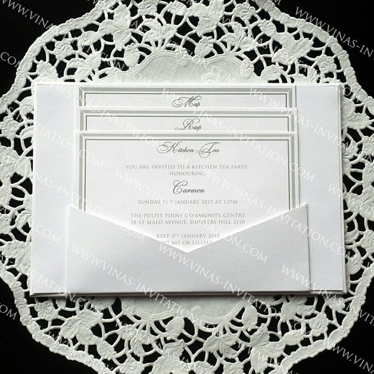 30 best Classic Wedding Invitation. By Vinas Invitation images on ...