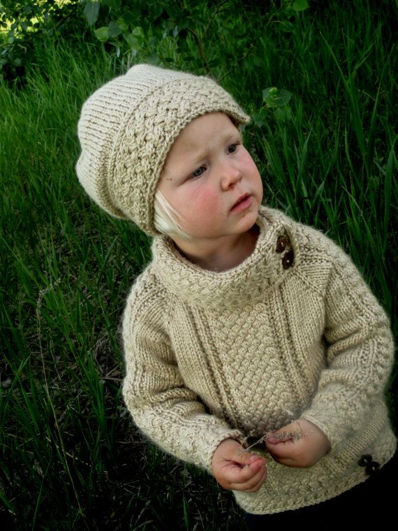 KNITTING PATTERN PDF sweater Knit pattern sweater Baby