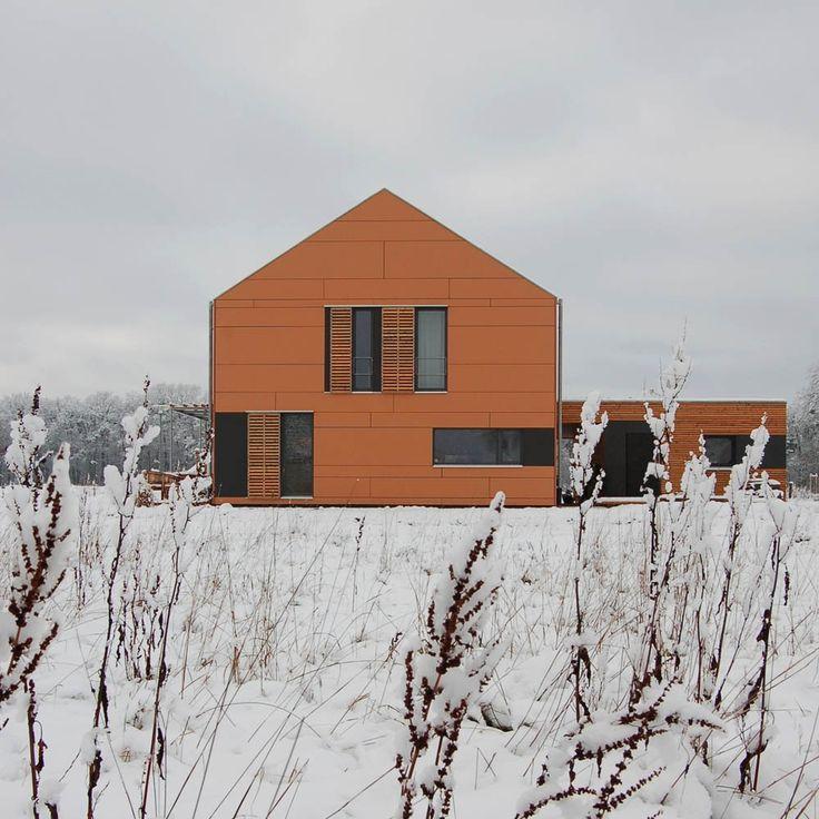 Einfamilienhaus - Qualitätsgeprüftes Passivhaus | w - (Holzhaus - Fassade)