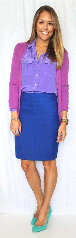 Mixing Purple — Js Everyday Fashion
