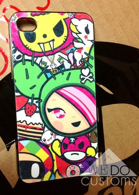 iPhone 4 & 5 Cases - Tokidoki Hello Kitty Sanrio Kawaii Cute Trendy Hipster Diva