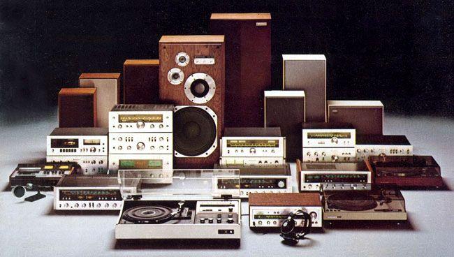 Kenwood vintage hi-fi separates from 1976