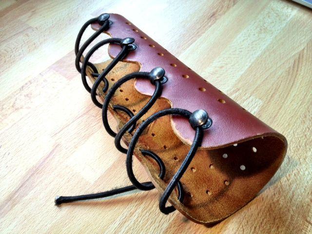 archery leather arm guard
