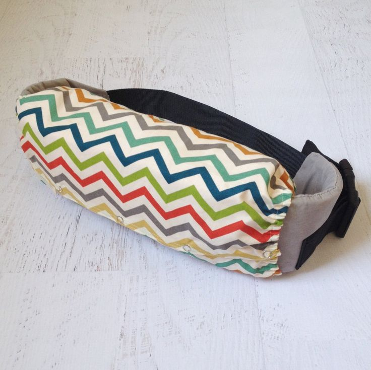 Organic Baby Carrier Bag in Chevron