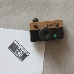 """Image of Tampon à encrer """"appareil photo"""" - 2 modèles"""