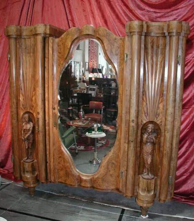 Art Nouveau Walnut 3 Piece Bedroom Suite: 167 Best Images About Art Deco