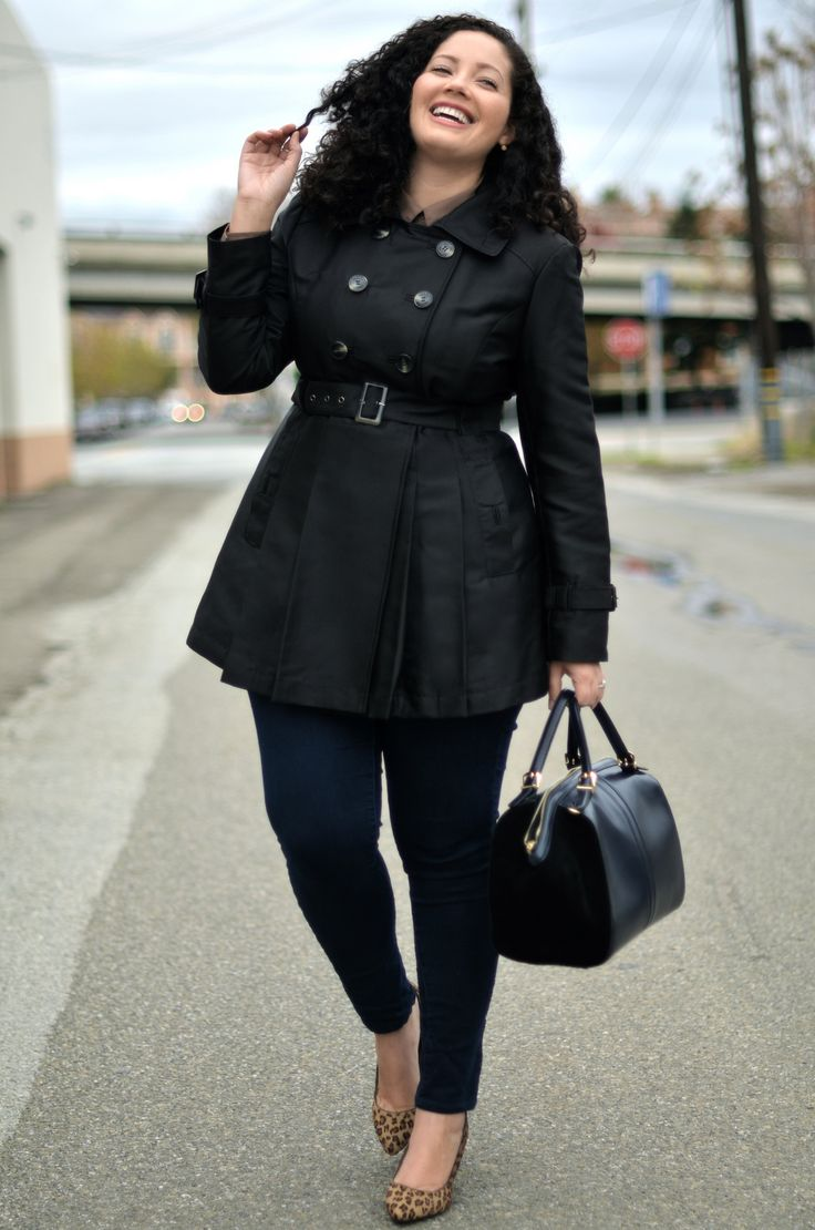 |WEARING| Kenneth Cole Trench, Forever 21 Blouse (similar here), Zara Bag, Old Navy Skinnies, Franco Sarto Wedges (similar here & here) What's be