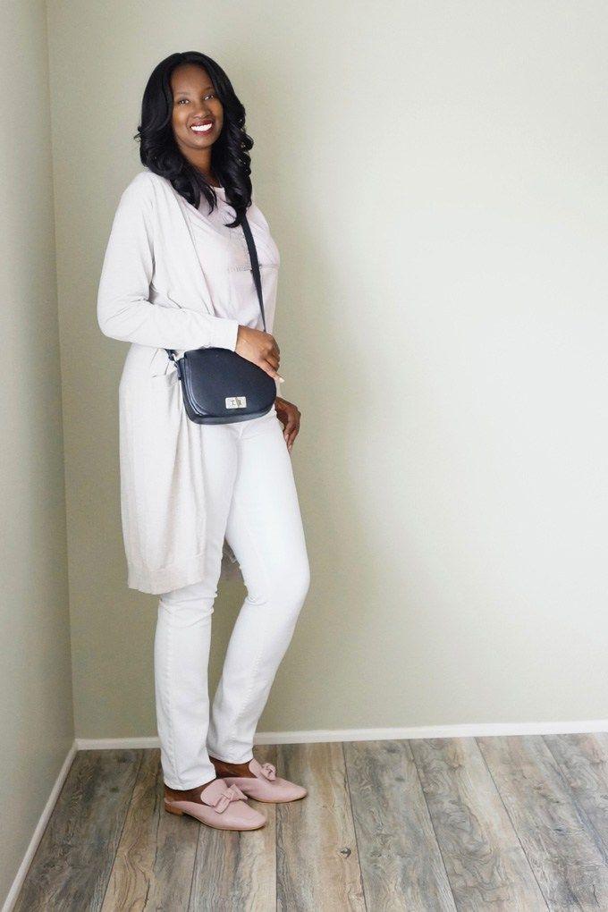 Pretty Tall Style - Tall Women's Fashion - Style Tips - DIY - Blush Bow Mules