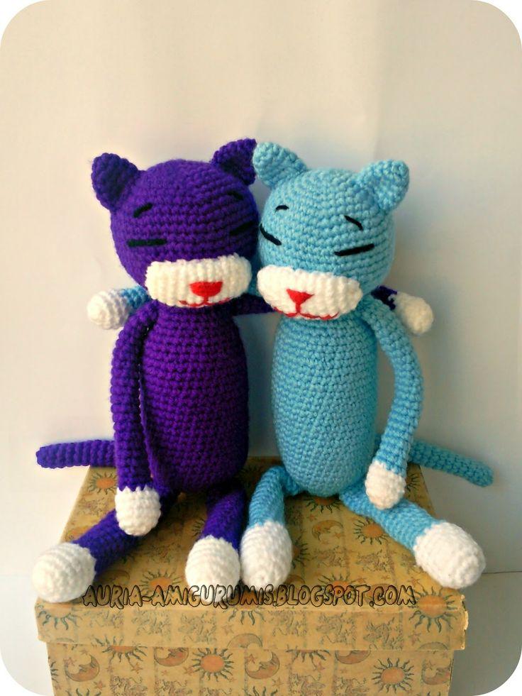 Vistoso Crochet Patrón De Gato Libre Festooning - Manta de Tejer ...
