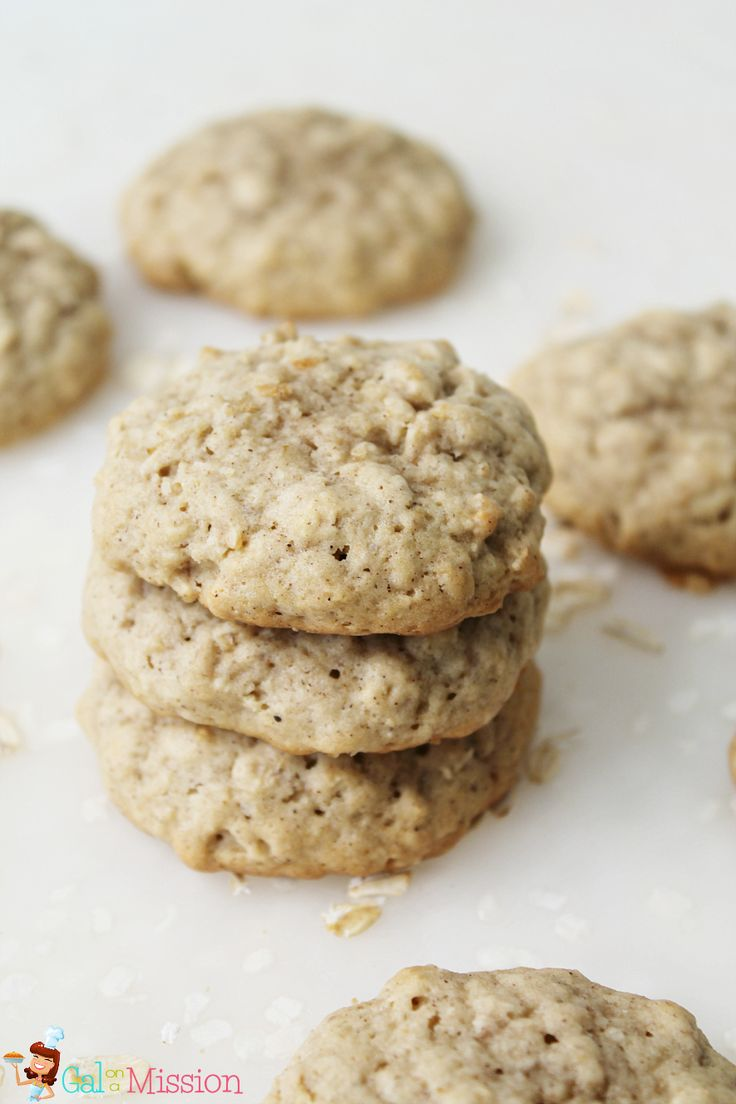 Classic Oatmeal Cookies | Recipe on galonamission.com
