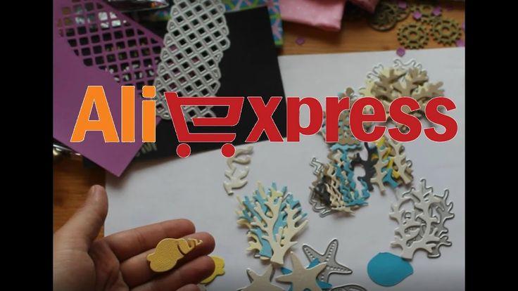 Скрап-покупки с AliExpress / 15 интересных материалов и инструментов