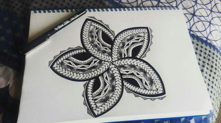 Simple flower design I did.
