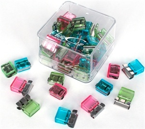 Mori Clips Small Assorted Colours Pack 50 Also Available In Medium Size