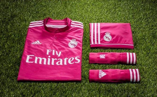 Segunda equipación del Real Madrid para la temporada 2014/2015