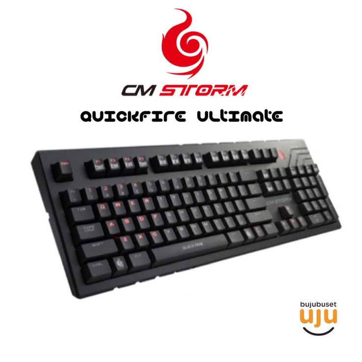 CM Storm - Quickfire Ultimate (Blue Switch) IDR 1.015.000