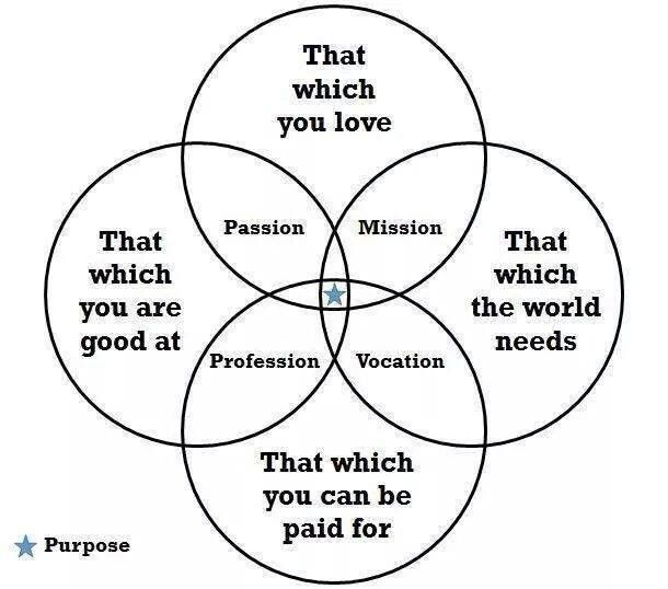 92 best network marketing mlm images on pinterest personal i like this a diagram balancing passion mission profession vocation and purpose ccuart Image collections