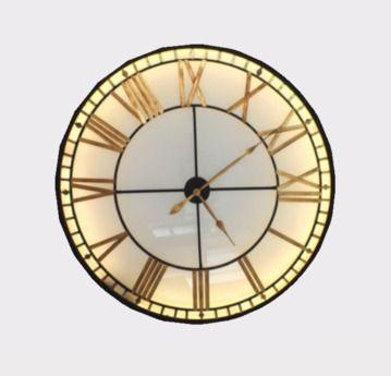 XL Illuminated Wall Clock - FULL PERM - https://marketplace.secondlife.com/p/XL-Illuminated-Wall-Clock-FULL-PERM/10269663