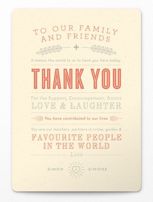 Adam Hill: Simon + Simone Wedding Invitations