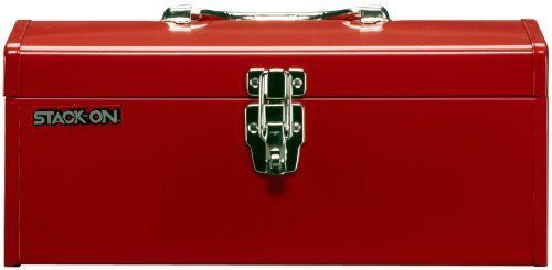 Steel Tool Box Red 16 Inch Multi Purpose Power Storage Home Christmas Gift Ideas #StackOn