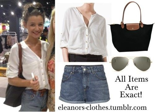 Eleanor Calder's outfit