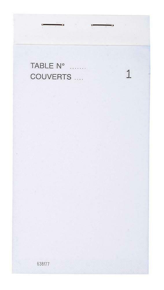 Ebay Sponsored Exacompta 96201e Paquet De 10 Blocs Maitre D Hotel Format Vertical Exacompta Paquet Bloc