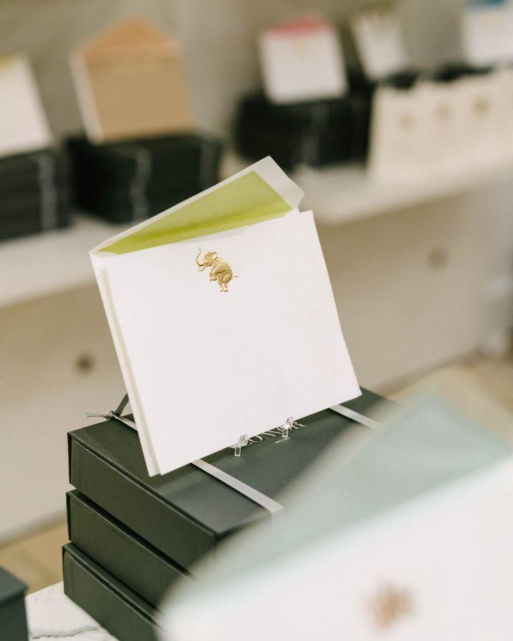 CONNOR Elephant Notecard Set