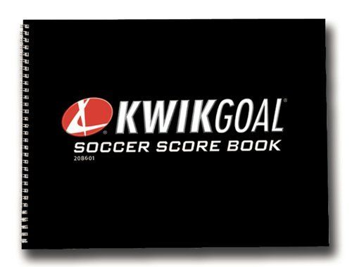 Kwik Goal Soccer Score Book by Score. $9.89. Kwik Goal Soccer Score Book includes a schedule, 24 match score sheets, player statistics and field diagrams.