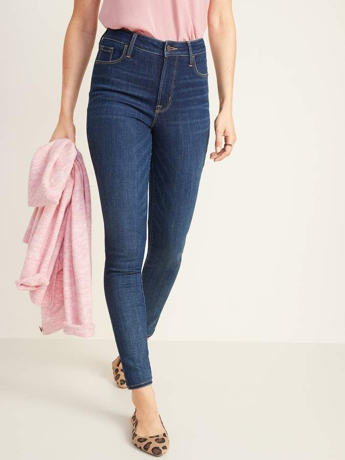 High Waisted Rockstar Super Skinny Jeans For Women Old Navy Super Skinny Jeans Women Jeans White High Waisted Jeans