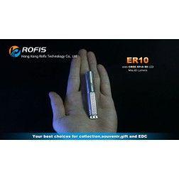Rofis ER10 (85 Lumens / AAA Battery)