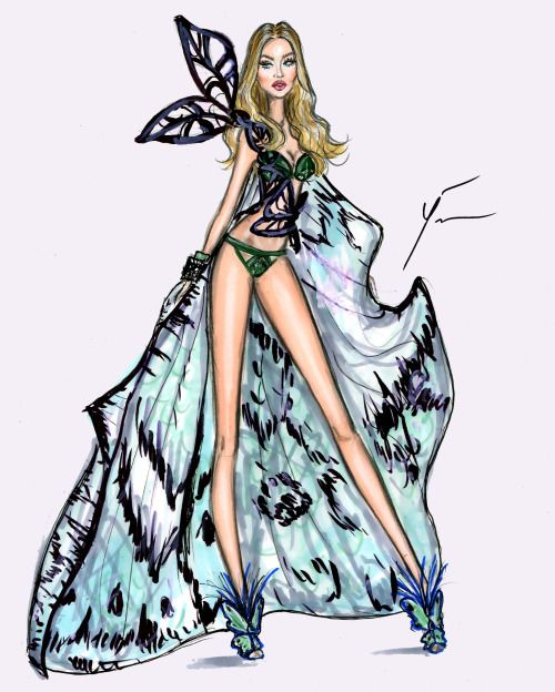 VS Fashion Show 2015 'Exotic Butterflies' by Yigit Ozcakmak: Gigi Hadid