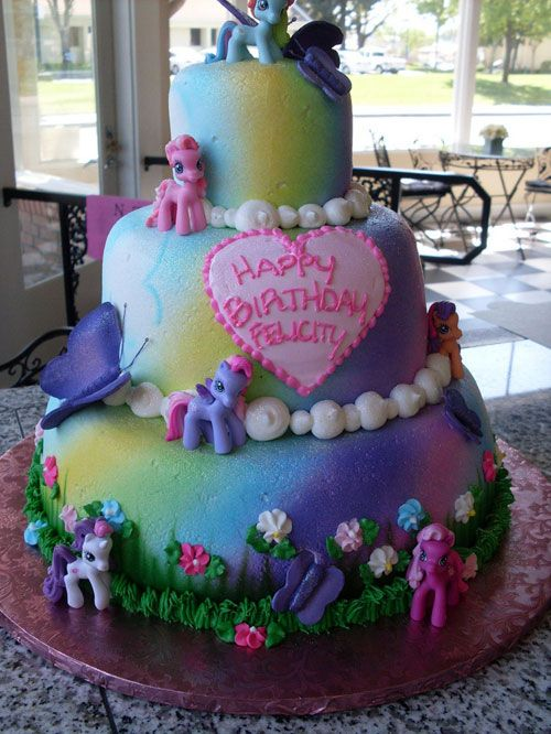 Torte di My Little Pony per Compleanni di Bambini (50 Foto) | PianetaBambini.it