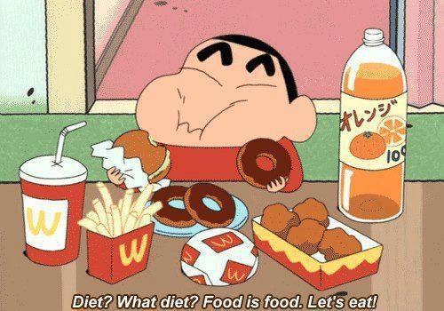 I like the way he thinks!!! Crayon ShinChan