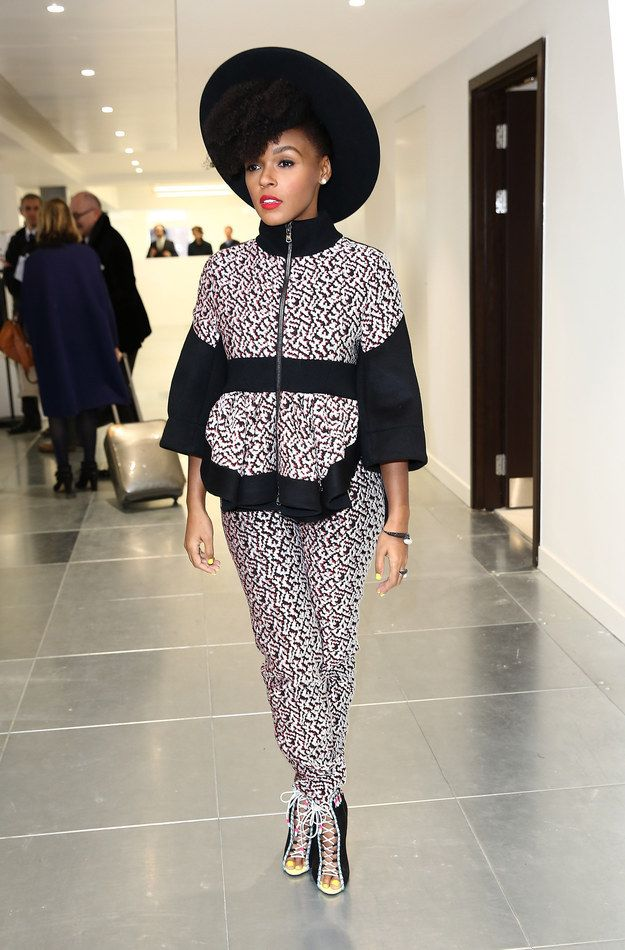 17 best images about janelle monae q u e e n on pinterest bet awards yellow nail polish and. Black Bedroom Furniture Sets. Home Design Ideas