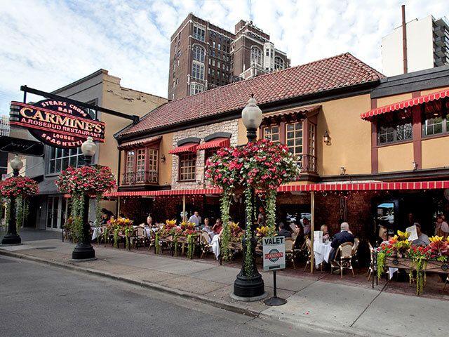 Carmine's Restaurant in Chicago, IL is part of the Rosebud Restaurants Group.