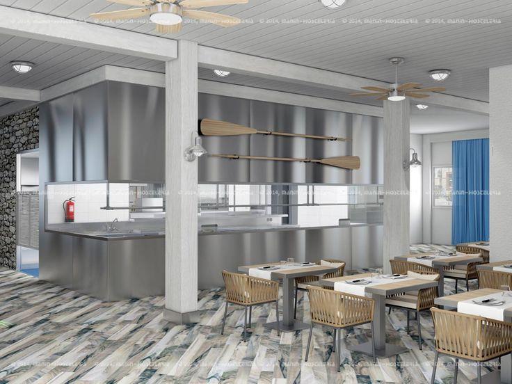 17 mejores ideas sobre interiores del restaurante en pinterest ...