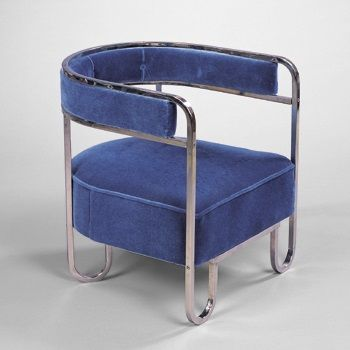 Lounge chair by donald deskey