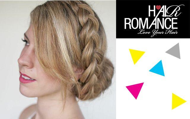 Hair Romance: French roll hairstyle tutorial | Village VoicesVillage Voices