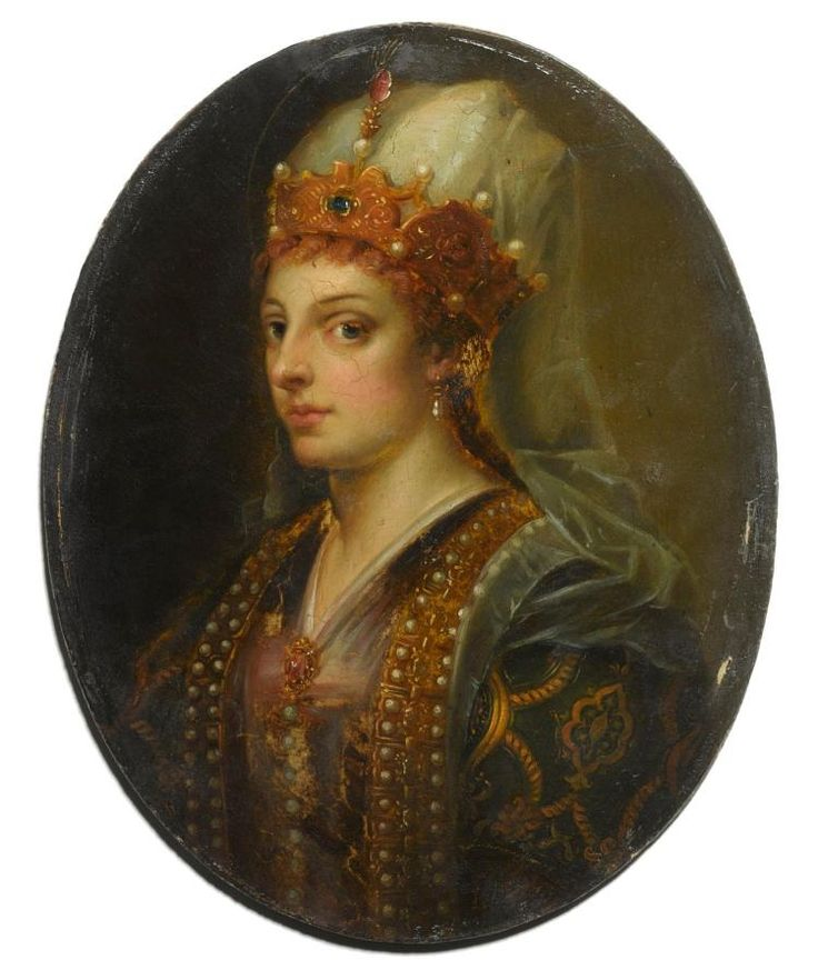 исторический портрет хюррем султан фото позже она