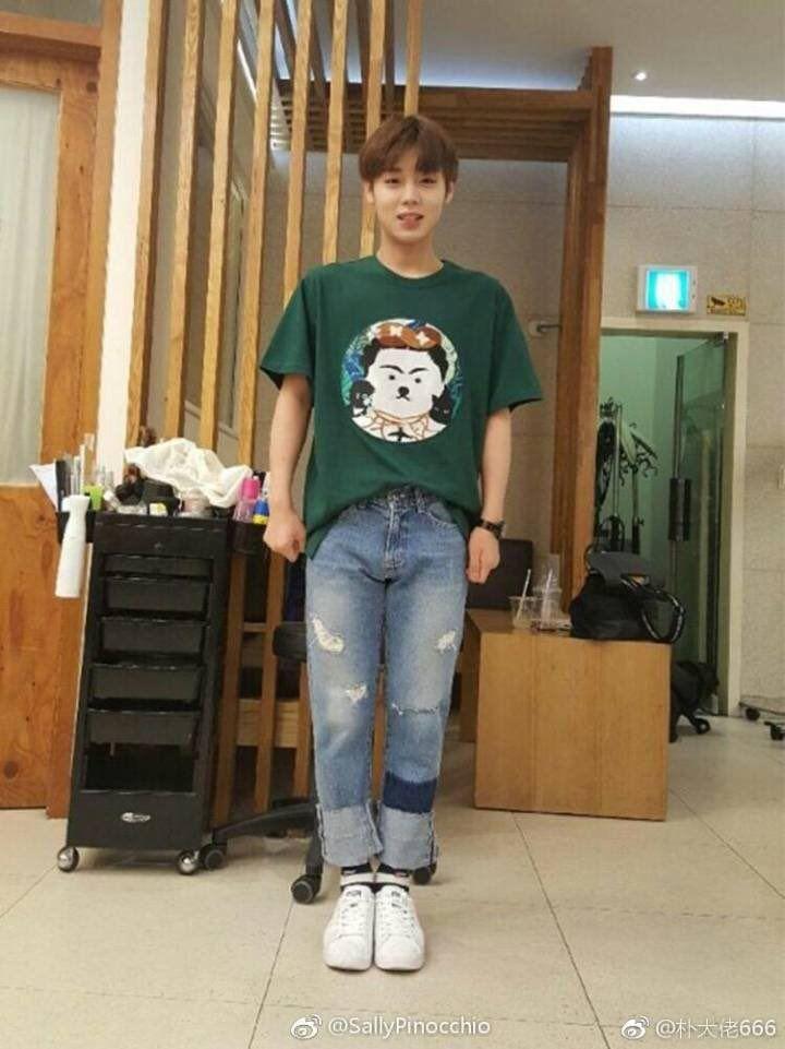 Park Jihoon; wow that boyfriend style tho