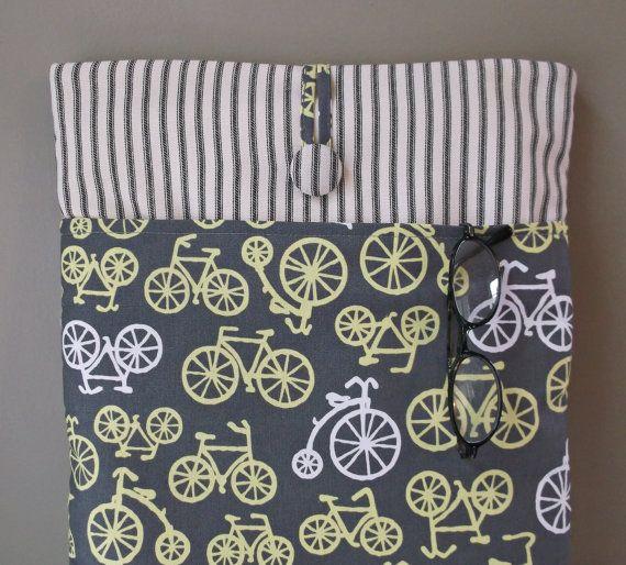 Bicycle Macbook Air 13 Case Cord Pocket Mac Book by MadeByJulie, $39.99