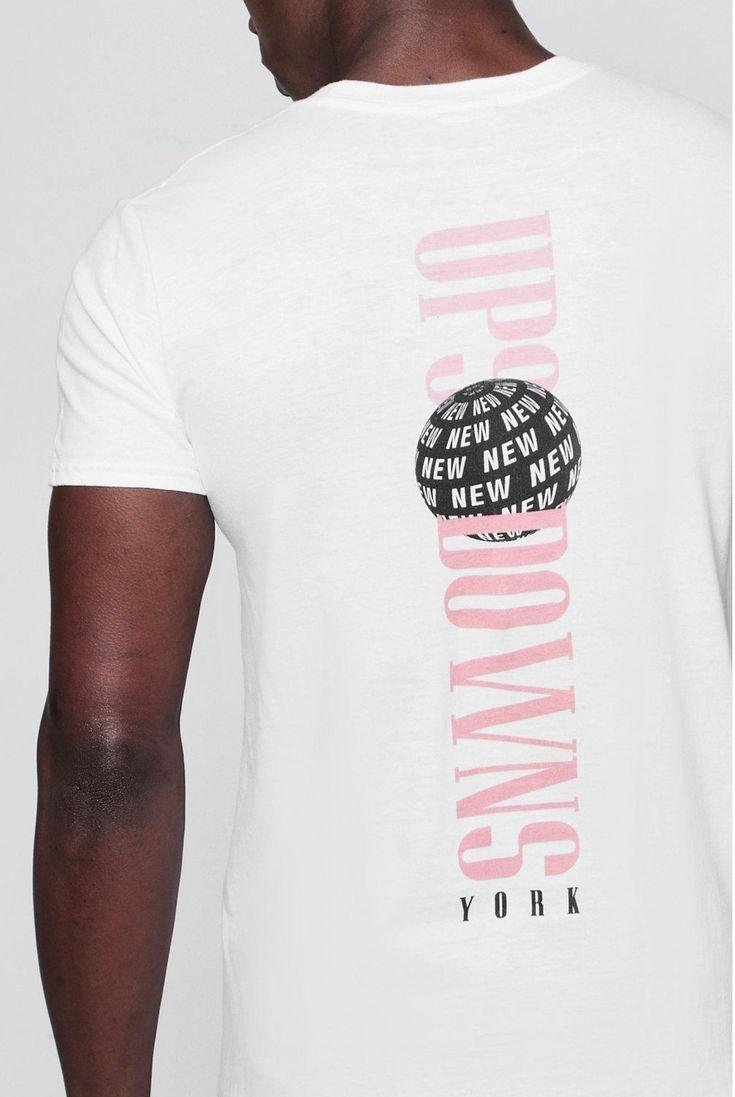 2555567002b157 New Back Print T-Shirt in 2019 | shirt ideas | T shirt, Shirts ...